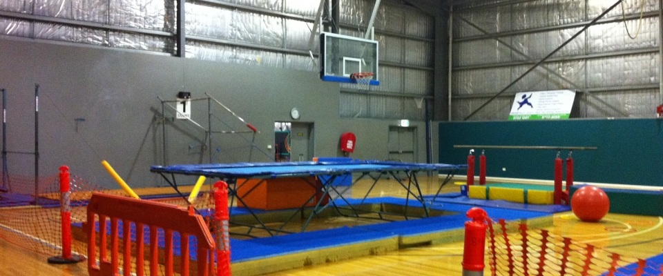 Robson stadium basketball gymnastics area